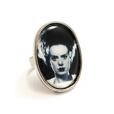 The Bride of Frankenstein ring silver adjustable UNIVERSAL STUDIOS goth gothic