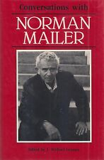 """Conversations with NORMAN MAILER"" (1988) FIRST Printing SIGNED by Mailer RARE"