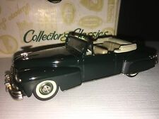 COLLECTORS CLASSICS 1948 LINCOLN CONTINENTAL TOP DOWN IN Gree 1/43 DIECAST METAL