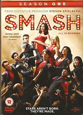 SMASH - Series 1. Debra Messing, Anjelica Huston (4xDVD SLIM BOX SET 2012)