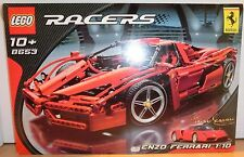 Racers LEGO - #8653 Enzo Ferrari 1:10 (1,359 Pcs) SEALED in MINT BOX!