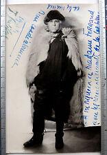 PHOTO THEATRE ARTISTE COMÉDIEN GRETILLAT SIGNÉ DÉDICACÉ 1944 k872