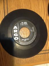 "Rod Bernard 45 ""This Shoulder Go On Forever / Pardon, Mr. Gordon"""
