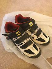 Mavic Mountain Bike SPD Cycling Shoes with Cleats Shimano RRP £120 Size 8