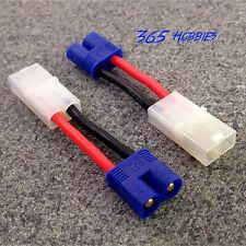 QTY-2 Male EC3 Losi to Female Tamiya Adapter Connector Brushless Speed Charger