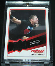 Topps WWE 2013 Trading Card The Miz Authentic Shirt Relic # 1