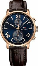 Men's Tommy Hilfiger Alden Brown Leather Band Watch 1791308