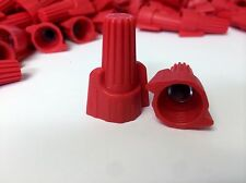 (1000 pc) P13 Red Winged Screw-On Wire Connectors Wing Nut Twist-On 2 BAG lot