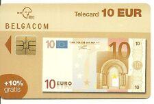 RARE / CARTE TELEPHONIQUE - BILLET 10 EUROS / PHONECARD