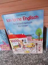 Ich lerne Englisch, ein Bildwörterbuch für Kinder, von Angela Weinhold, aus dem