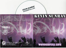 CD COLLECTOR IN PLASTIC SLEEVE KEVIN SUNRAY WONDERFULL LIFE 4 VERSIONS