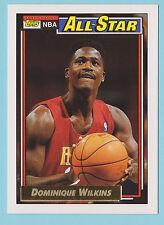 1992-93 Topps Gold All-Star Dominique Wilkins Atlanta Hawks #125 (KCR)