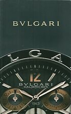 Catalogue Bulgari 2008 Montre watch katalog