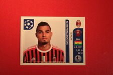PANINI CHAMPIONS LEAGUE 2011/12 N 506 BOATENG MILAN WITH BLACK BACK MINT!!
