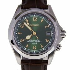 Japan Seiko SARB017 Mechanical Automatic Men's Leather Watch US Ship Fast FBA