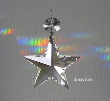 Hanging Crystal Suncatcher Feng Shui Rainbow Prism Window Hanger Star