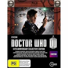 Doctor Who: The 50th Anniversary Collector's Limited Edition DVD box set new R4