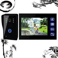 "2.4G 7"" Wireless Video Door Phone Doorbell Home Camera Monitor Intercom Security"
