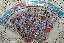 Disney Mickey Mouse 3 Sheets 3D Puffy Mini Stickers Party Supplies Favour Favor
