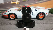 1/32 URETHANE SLOT CAR TIRE 2pr PGT-21124-XPG fit Scalextric Ford GT40 (Mk I)