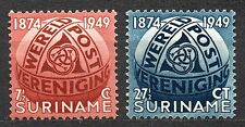 Suriname - 1949 75 years UPU Mi. 313-14 MH