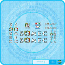 Somec Bicycle Decals - Transfers - Stickers - Set 3