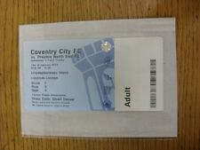 10/01/2013 billet: coventry city v preston north end [johnstone peinture trophée] (l