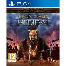 Grand Ages Medieval Limited Special Edition PS4 Game Brand New
