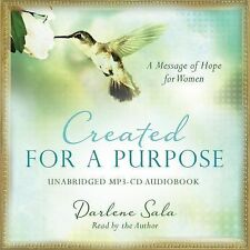 Created for a Purpose Audio (CD): A Message of Hope for Women