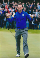 Graeme McDOWELL Ryder Cup WINNER RARE SIGNED AUTOGRAPH Golf Photo AFTAL COA RARE