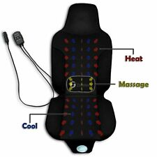 Zone Tech 3 In 1 Car Auto Seat Cover Cushion With Cooling Warm Heated & Massage