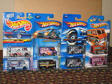 Hot Wheels Lot of 8 Combat Medic Ambulance Grave Rave Wagon Variation Pink Hawk