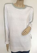 NWT $60 LIZ CLAIBORN Authentic Fashion Graphic Spectrum Sweater Tunic, Size 2X