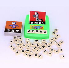 English Spelling Alphabet Letter Game Early Learning Educational Toy Kids Gift A