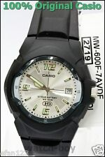 MW-600F-7A 10-Year Battery Life Japan Movt New Genuine Casio Plastic Watch White
