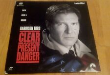 Clear and Present Danger (Laserdisc, 1995)
