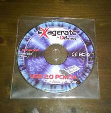 "Strumenti/Utility/Driver/Cd/DVD""EXAGERATE BY HAMLET CONTENT USB 2.0 PCMCIA"""