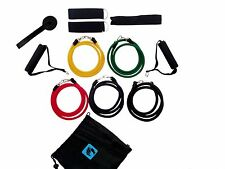 gymadvisor RESISTANCE BANDS 12 piece set yoga pilates fitness exercise workout