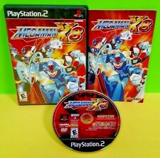 Mega Man X8 - Sony PlayStation 2 PS2 Game Rare Complete Tested Capcom MegaMan