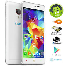 3G Smart Cell Phone Phablet Huge 5.5in Screen Android 4.4 GPS WiFi 7mm UltraSlim