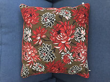 "Paul Smith for The Rug Company Dahlia handwoven tapestry wool pillow 21"" square"
