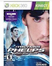 New Xbox 360 Michael Phelps: Push the Limit  Xbox 360 Kinect Game