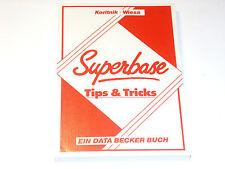Superbase Tips & Tricks   Data Becker Buch für Commodore (Z2G023)