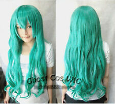 Hot Sell ! NEW Cos miku Hatsune Green Cosplay Wig 80cm    g98