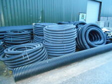 PERFORATED DRAINAGE PIPE / LAND DRAIN 80mm x 25 METRES
