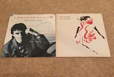 """2 X Chris De Burgh 'The Lady In Red'  & Missing You 7"""" Vinyl Single 45rpm"""