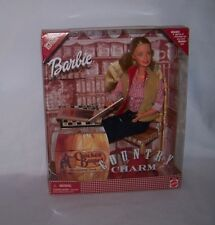 2000 Mattel Barbie Doll Country Charm