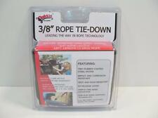 """Quickie Tie-Down 12' x 3/8"""" Original Rope Pulley 500lb Load Military Certif"""