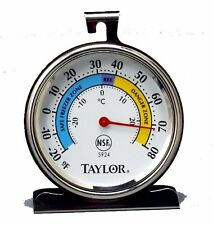 Taylor Precision Products Classic Series Large Dial Thermometer (Freezer/Refrige
