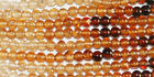 "14"" St Tiny Hessonite Garnet Round Beads 2mm Gemstone"